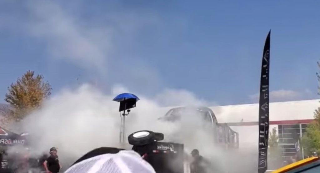 Видео дня: 3000-сильный двигатель взорвался во время теста 1