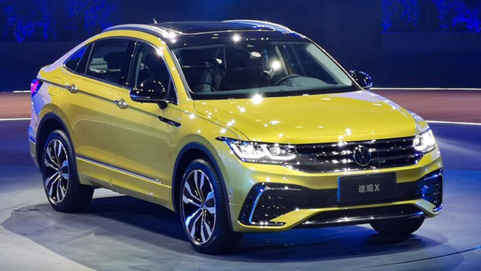 Volkswagen продемонстрировал совершенно иной Tiguan 1