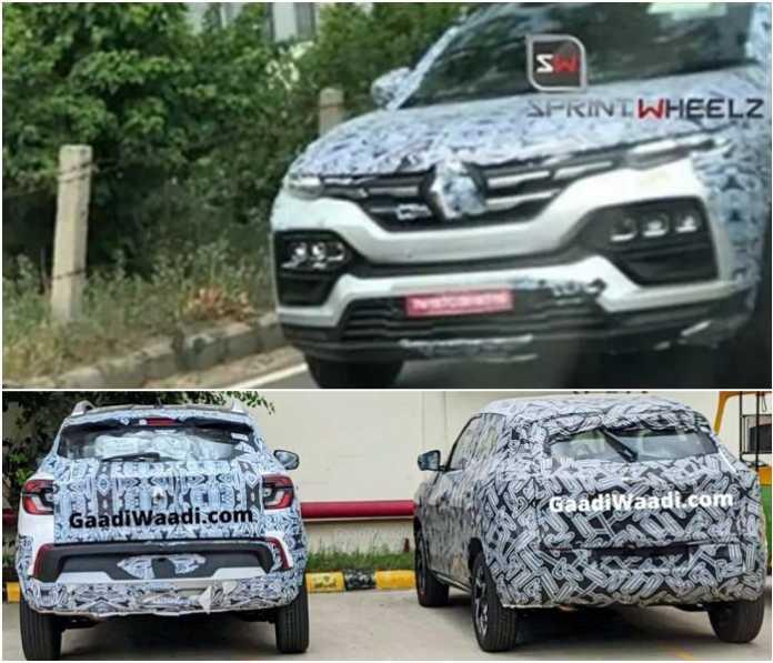 Новый дешевый кроссовер Renault показали на шпионских фото 1