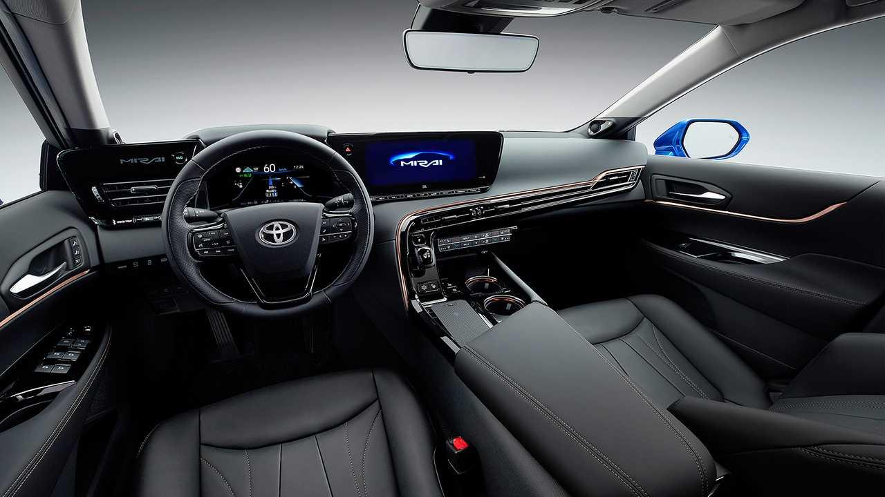 Toyota начинает продажи нового водородного седана 2