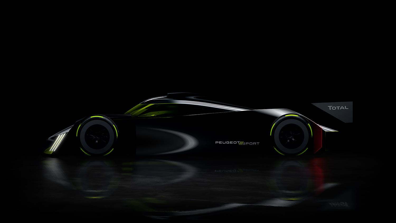 Опубликованы изображения самого быстрого Peugeot в истории 1