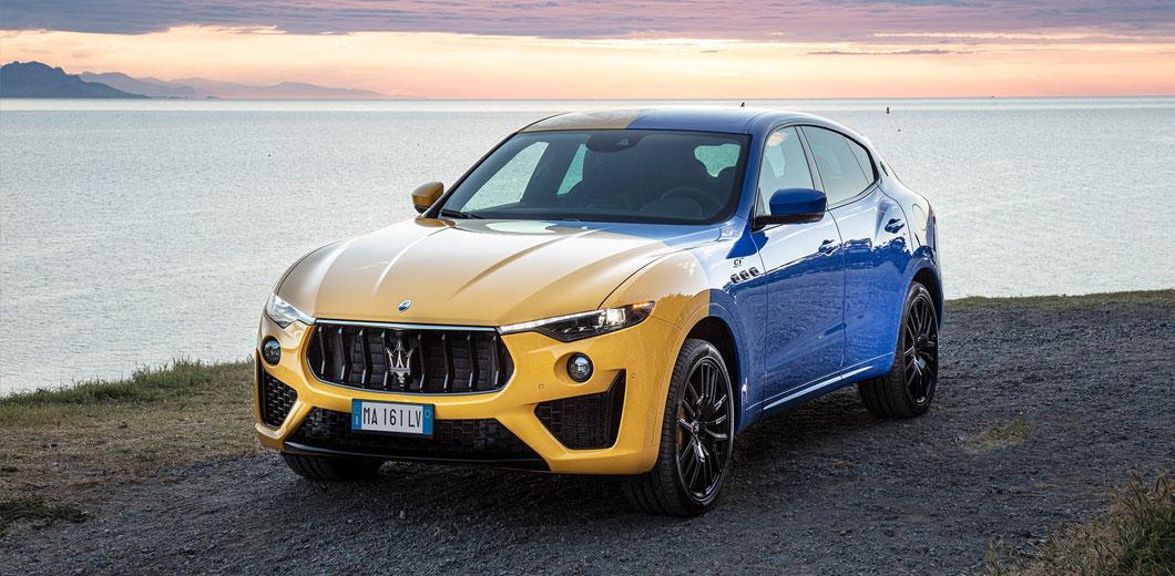Представлен эксклюзивный кроссовер Maserati для украинцев 1