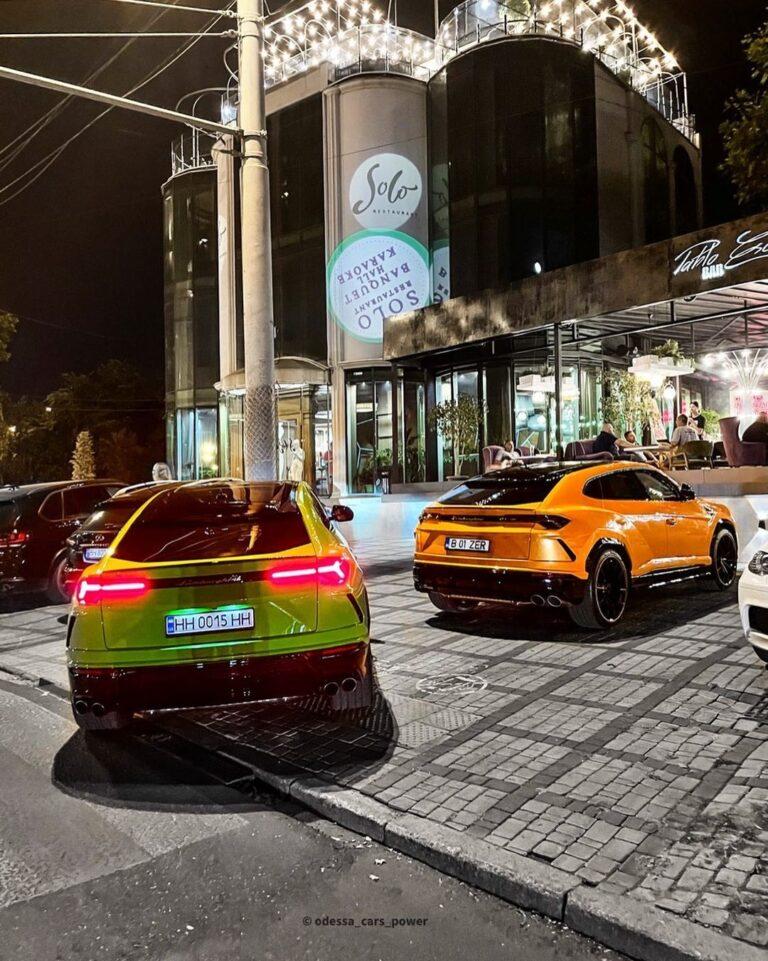 В Украине наблюдается нашествие внедорожных Lamborghini Urus 1