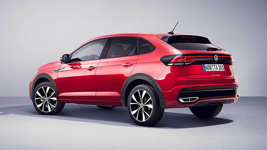 Volkswagen показал новый компакткроссTaigo 3