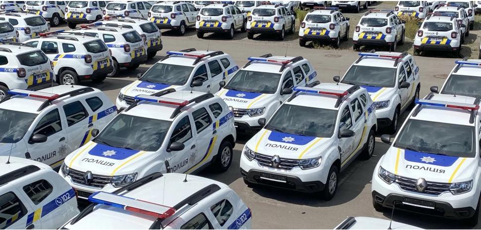 300 новеньких кросоверів Renault Duster поповнять автопарк Нацполіціі 1