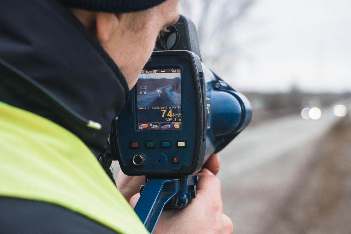 В Украине запретили полицейским измерять скорость в ручном режиме 1