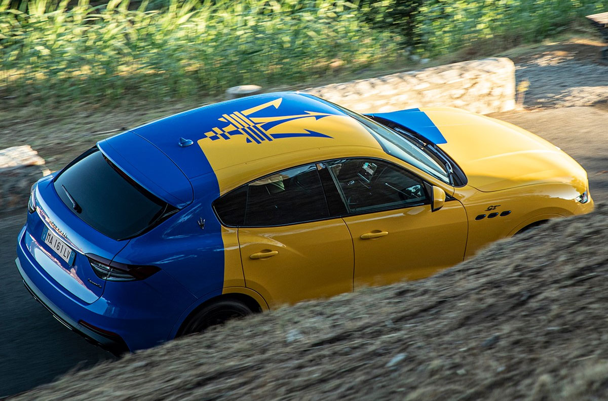 Представлен эксклюзивный кроссовер Maserati для украинцев 2