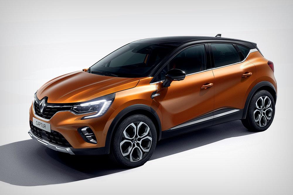 В Украине презентован новый Renault Captur 1
