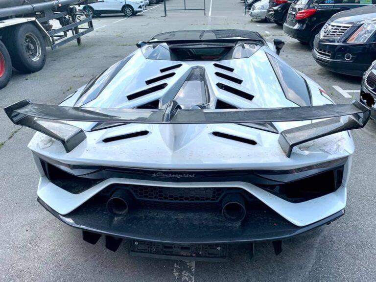 Таможня конфисковала эксклюзивный Lamborghini за 600тыс. евро 3