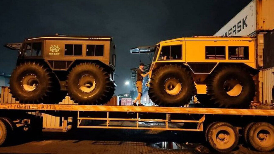 Украинский вездеход Sherpвыходит на новый рынок 1