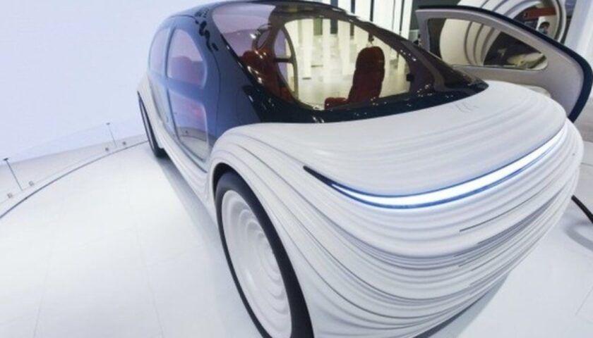 В Британии показали автомобиль, который очищает воздух во время движения  1
