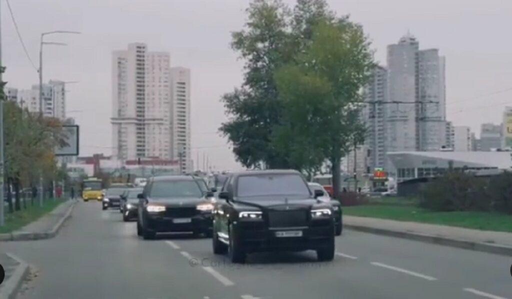 В Украине засняли свадебный кортеж суммарной стоимостью более миллиона долларов 1