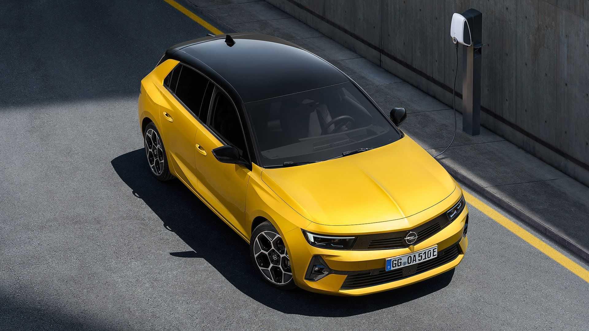 Хэтчбек OpelAstra шестого поколения представлен официально 3