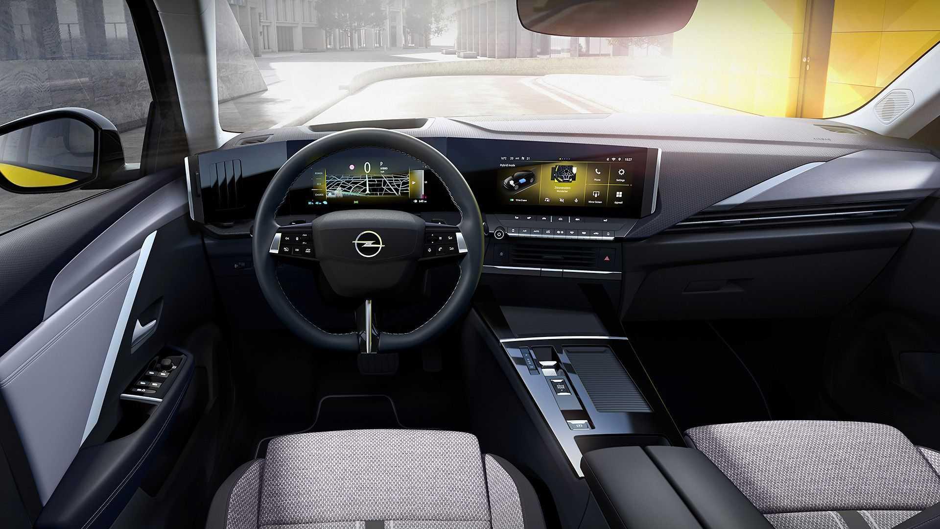Хэтчбек OpelAstra шестого поколения представлен официально 2