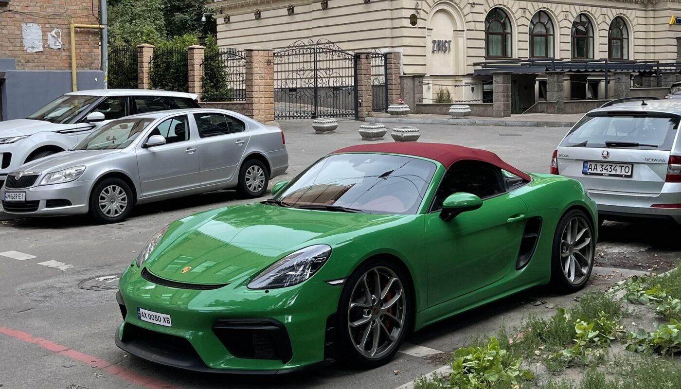 В Киеве замечен редчайший спорткар Porsche 1