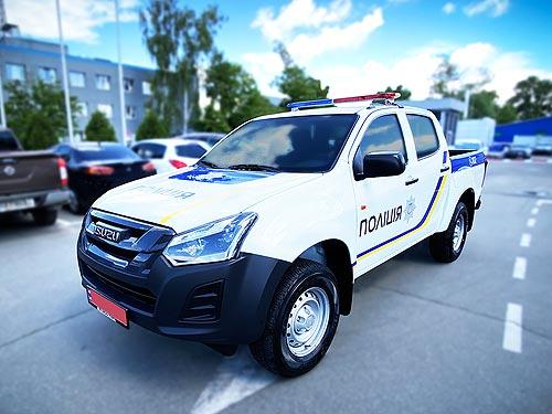 Украинская полиция пересядет на пикапы 1