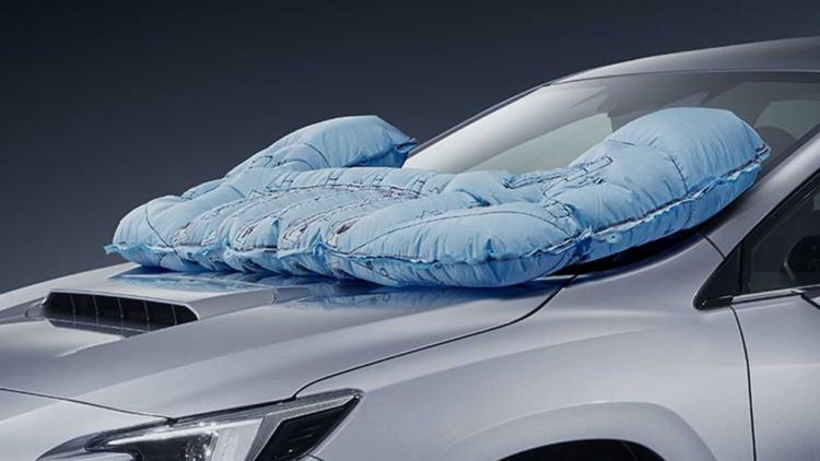 Subaru выпустила автомобиль с подушкой безопасности для пешеходов 1