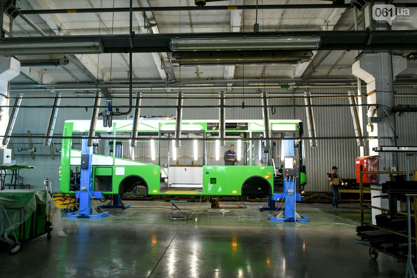 Подробности об автобусе ЗАЗ на агрегатах Mercedes-Benz 2