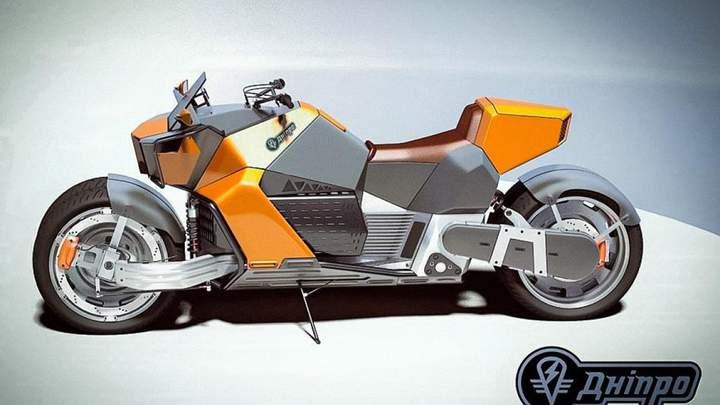 Появилось первое изображение мотоцикла Днепр, который станет серийным электробайком 1