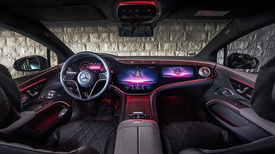 В Украине стартовали продажи электромобиля Mercedes-Benz EQS 3