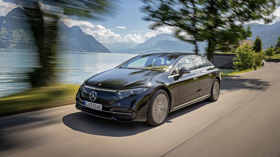 В Украине стартовали продажи электромобиля Mercedes-Benz EQS 1