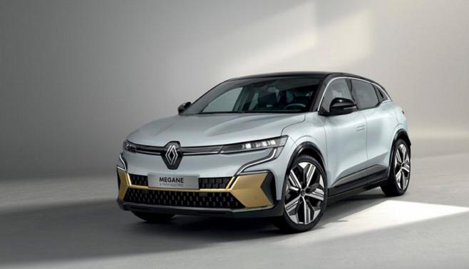 Компания Renault презентовала электрокар Megane E-Tech 3
