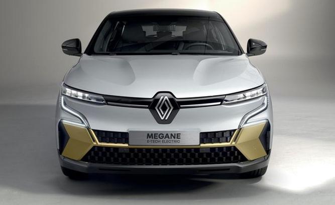 Компания Renault презентовала электрокар Megane E-Tech 2