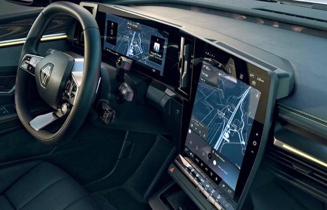 Компания Renault презентовала электрокар Megane E-Tech 1