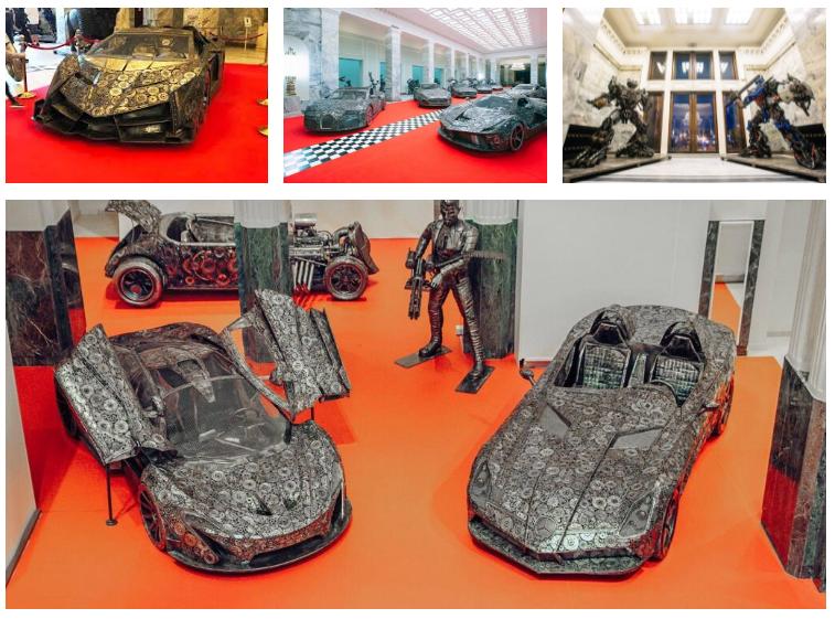 В Украину привезут сделанные из металлолома суперкары 2