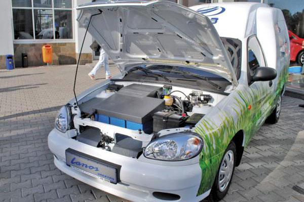 ЗАЗ выпустил электромобиль Lanos 2