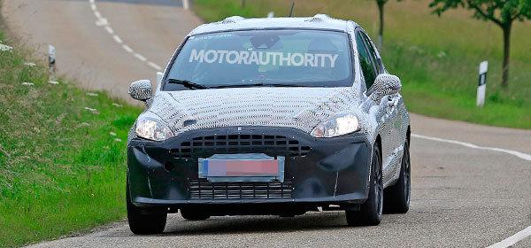 Первые изображения новой Ford Fiesta 3