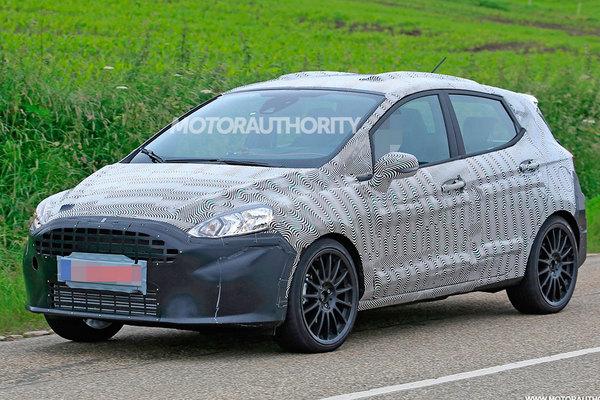 Первые изображения новой Ford Fiesta 1