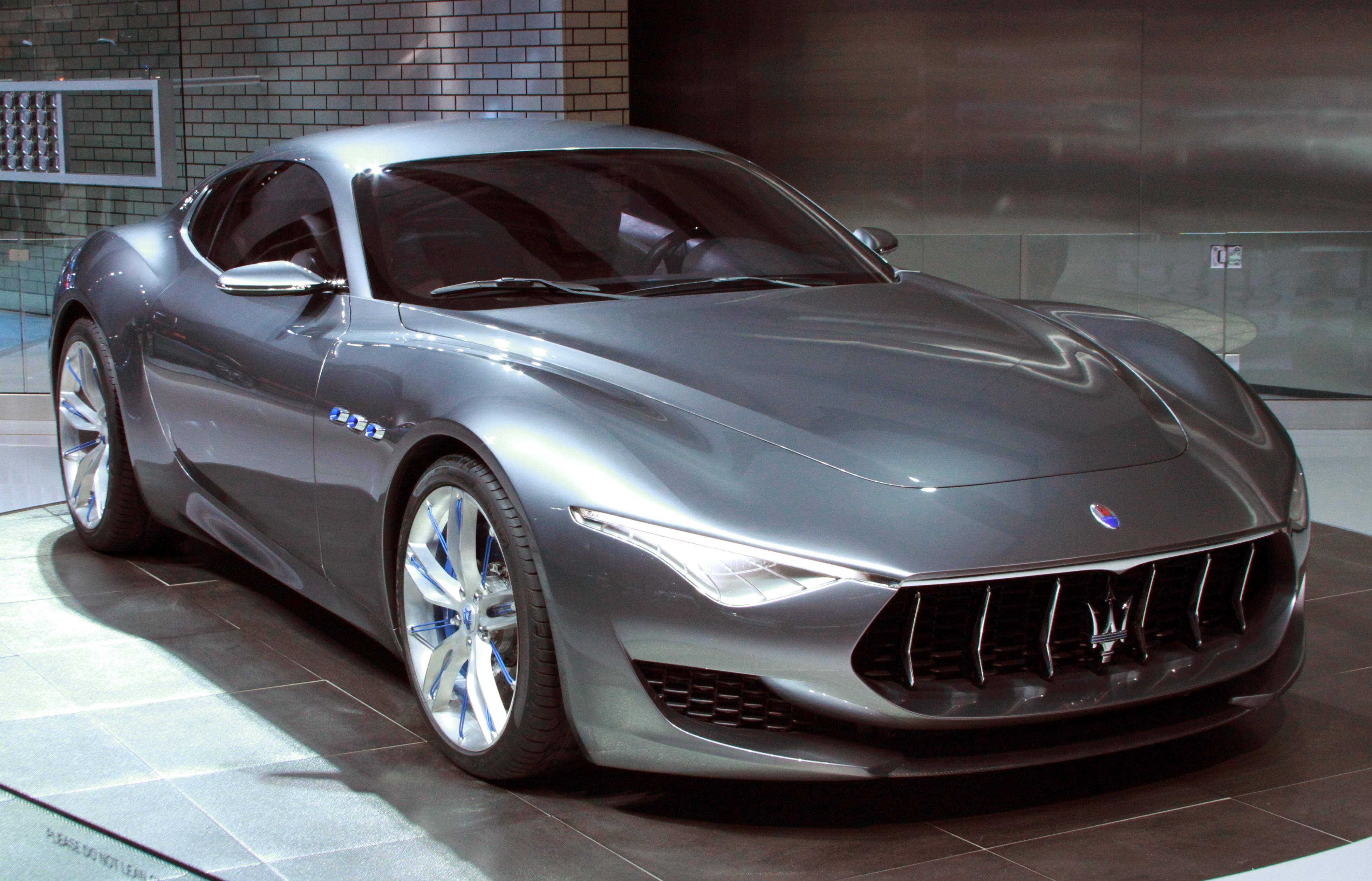 Бренд Maserati разрабатывает электромобиль 1