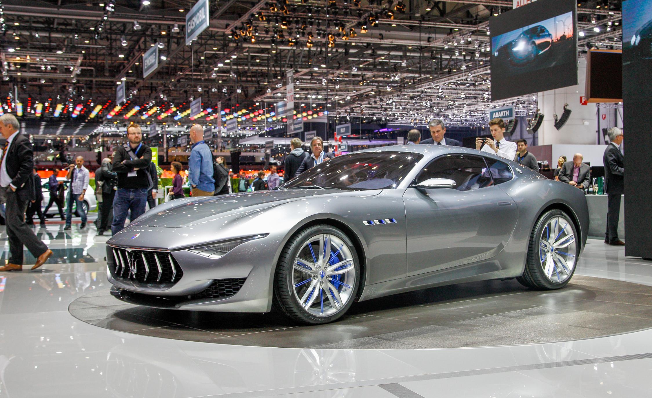 Бренд Maserati разрабатывает электромобиль 2