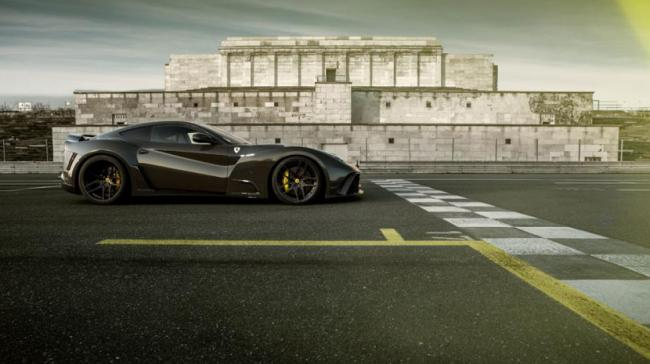 Появилась S-версия суперкара Ferrari F12 1