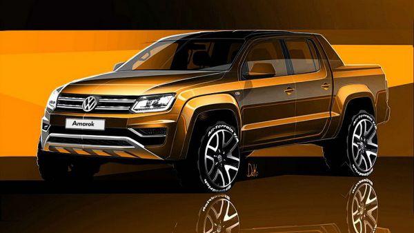 Компания Volkswagen рассекретила обновленный «пикап премиум класса» 1
