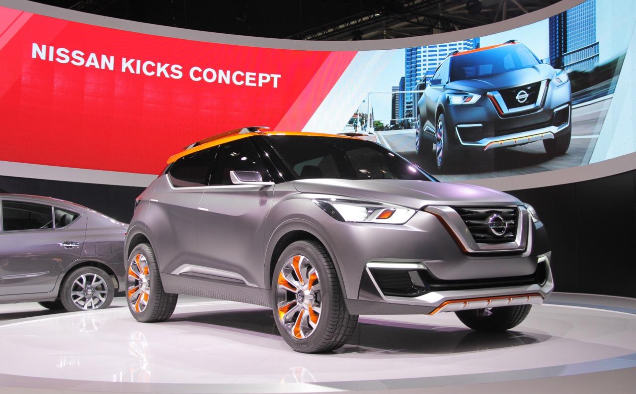 Nissan опубликовал тизер кроссовера Kicks 2