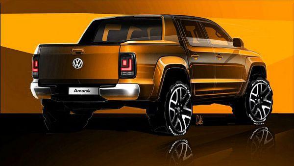 Компания Volkswagen рассекретила обновленный «пикап премиум класса» 2