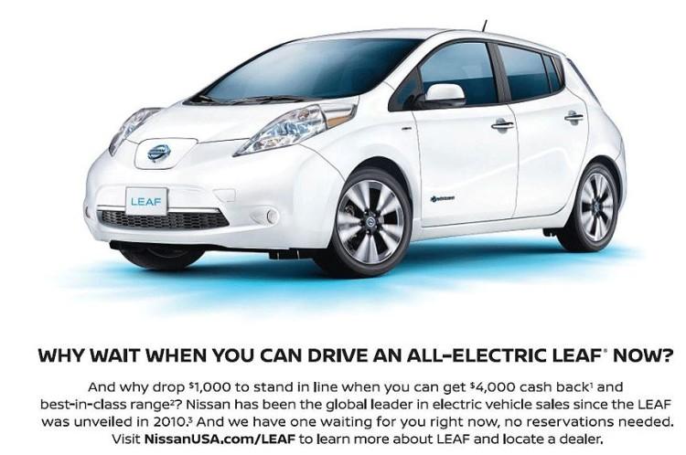 Nissan намерен составить серьезную конкуренцию для Tesla 1