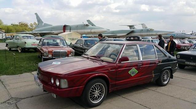Как выглядят ретро автомобили Украины 1