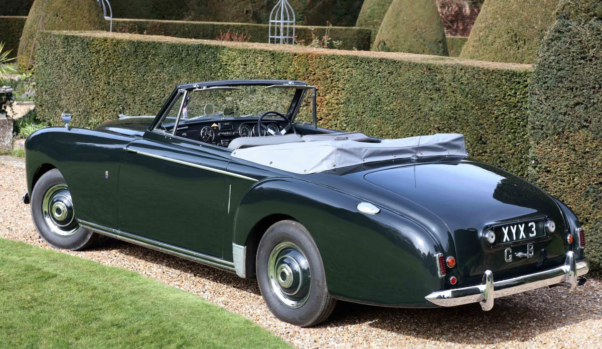 На аукционе выставят модифицированную версию Астон Мартин Lagonda 3