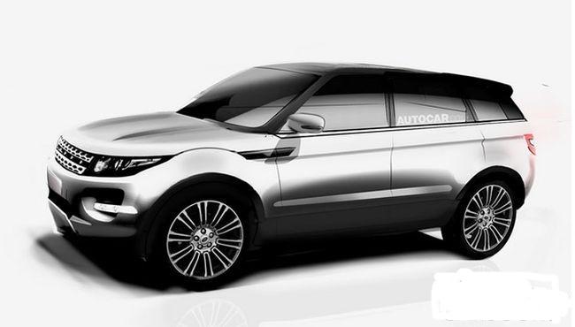 Марка Land Rover создала конкурента BMW X6 1