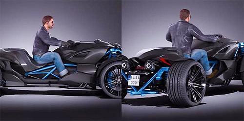 Украинские специалисты создали 600-сильный квадроцикл 2