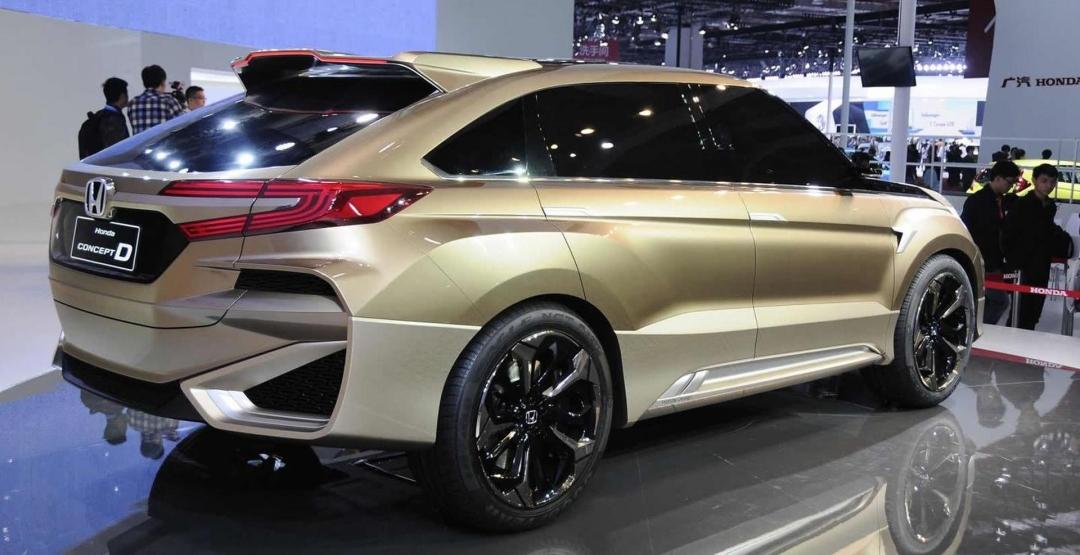 Компания Honda Motor создала новый внедорожник 2