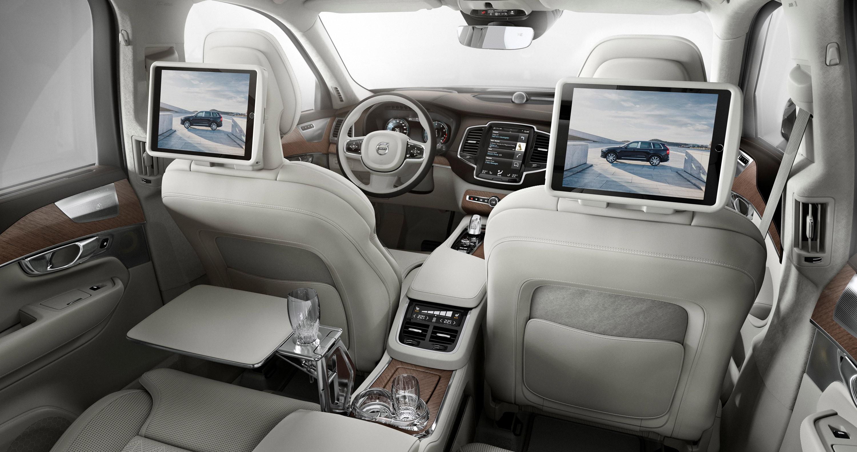 Роскошный Volvo XC90 Excellence дебютировал в Нью-Йорке 4