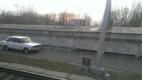 Украинский водитель устроил необычные гонки 2