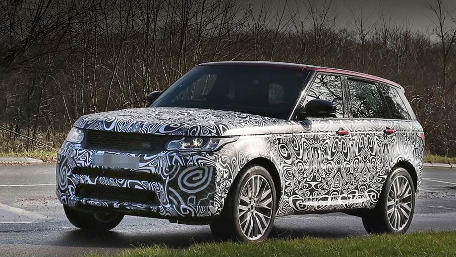 Range Rover Sport SVR получит обновление 1
