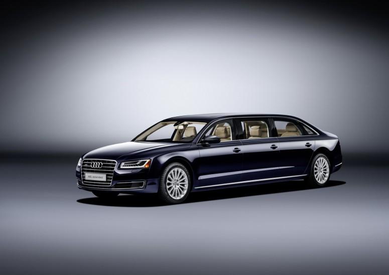 Компания Audi презентовала единственный экземпляр президентского лимузина 1