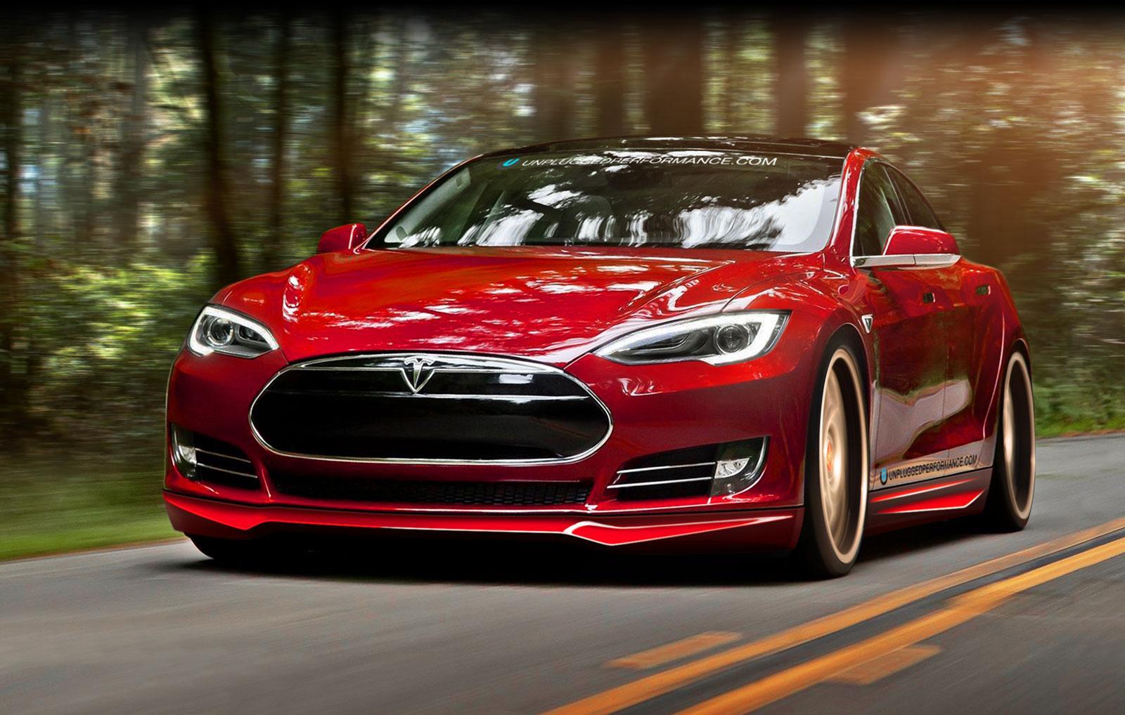 Компания Tesla обновит Model S 1