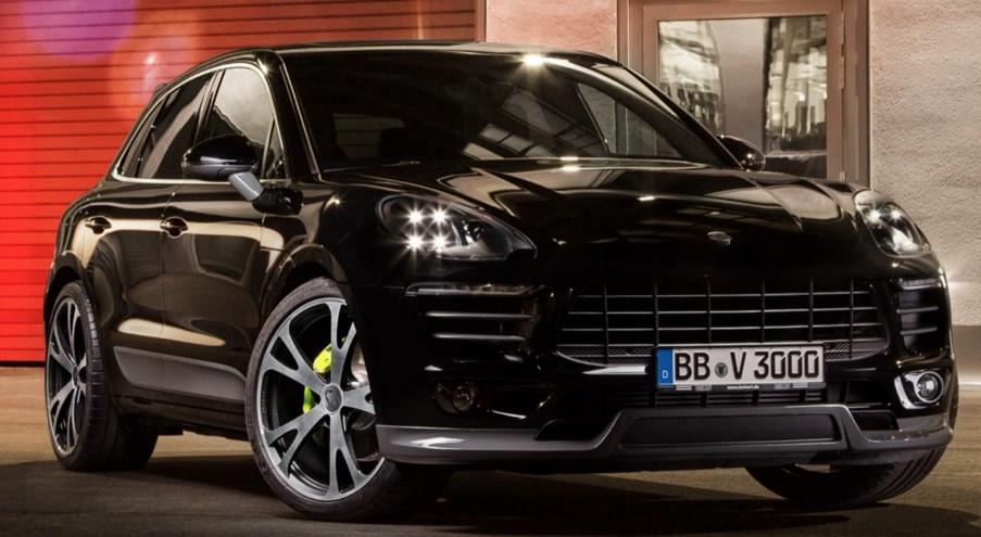 Марка Porsche готовится к старту продаж Macan 1